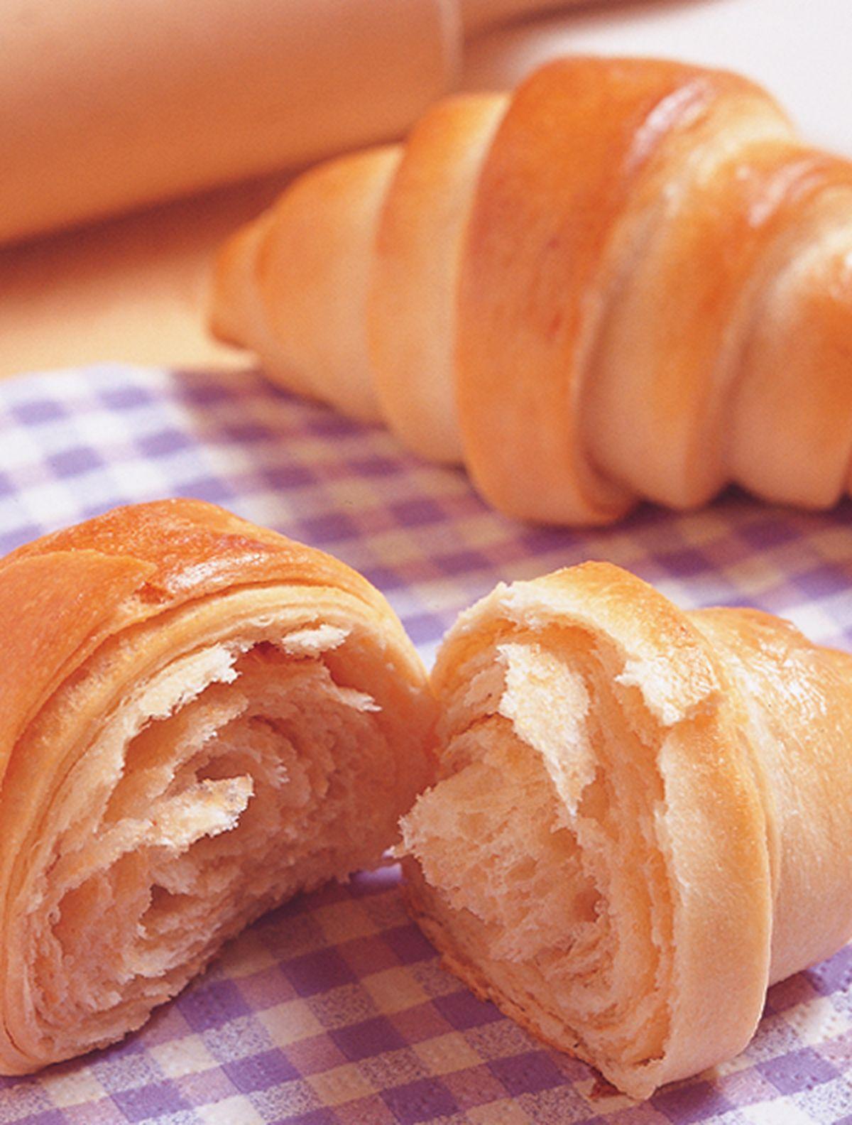 食譜:花生牛角麵包