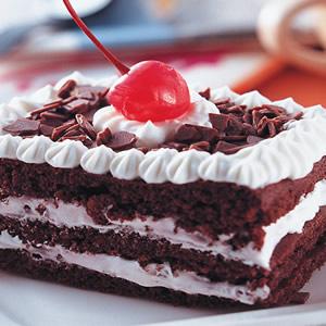 巧克力櫻桃蛋糕