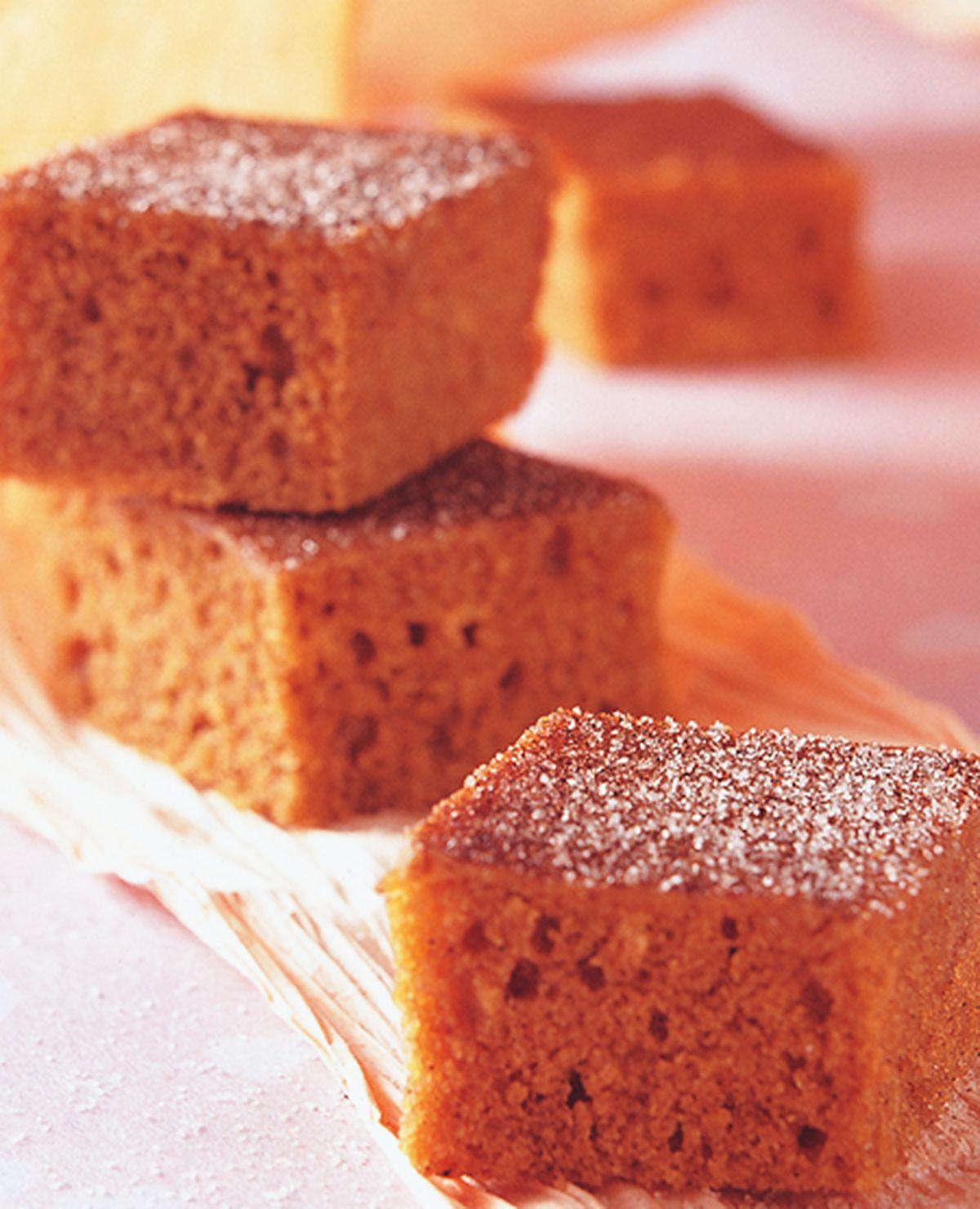 食譜:肉桂方塊蛋糕