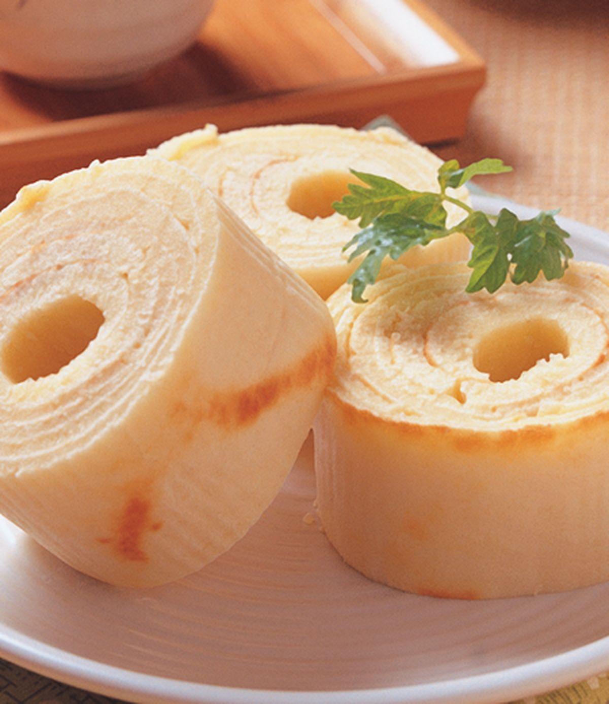 食譜:日式年輪鬆餅捲