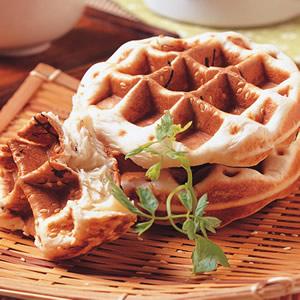 比利時芝麻海苔鬆餅
