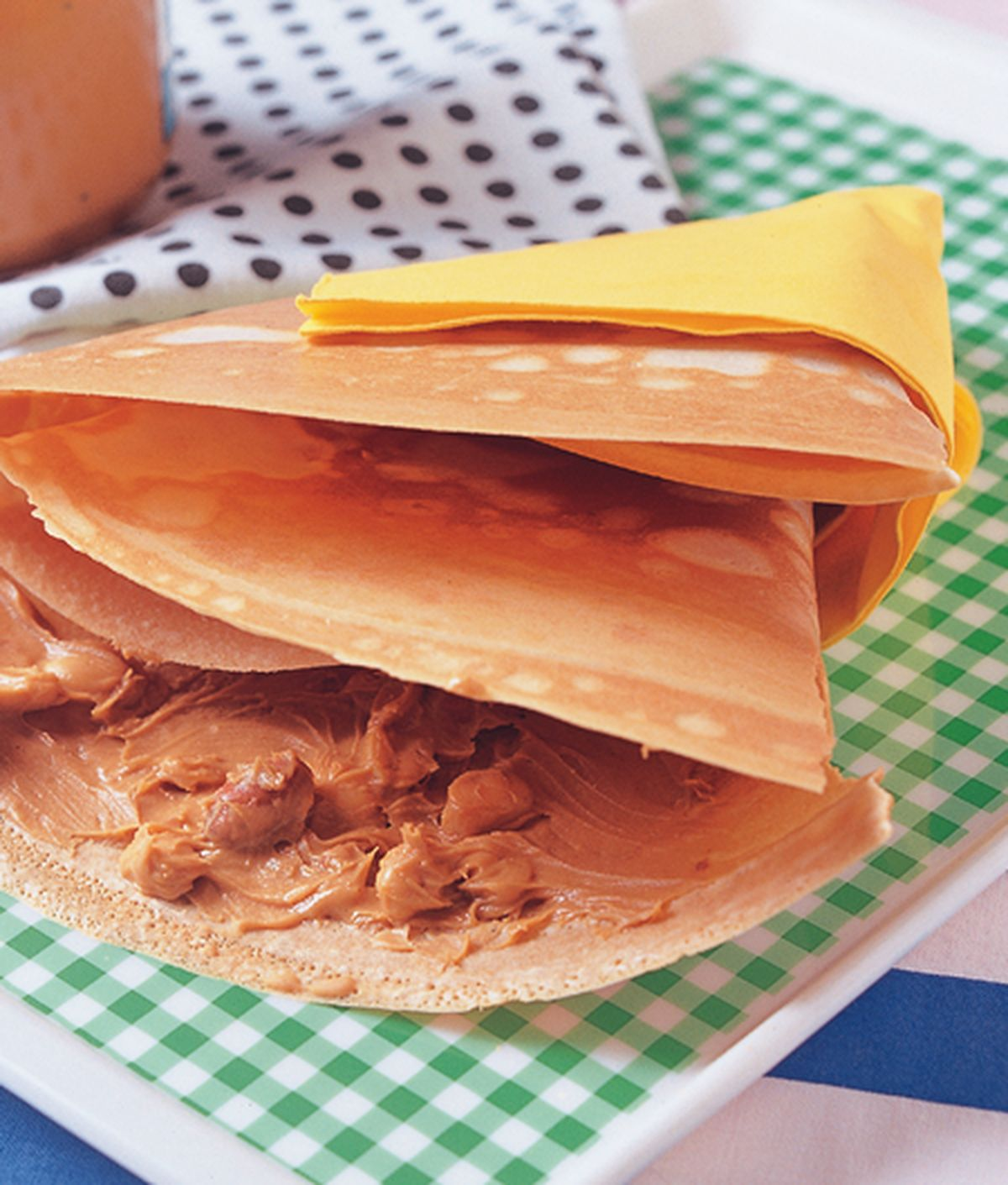 食譜:花生奶酥可麗餅