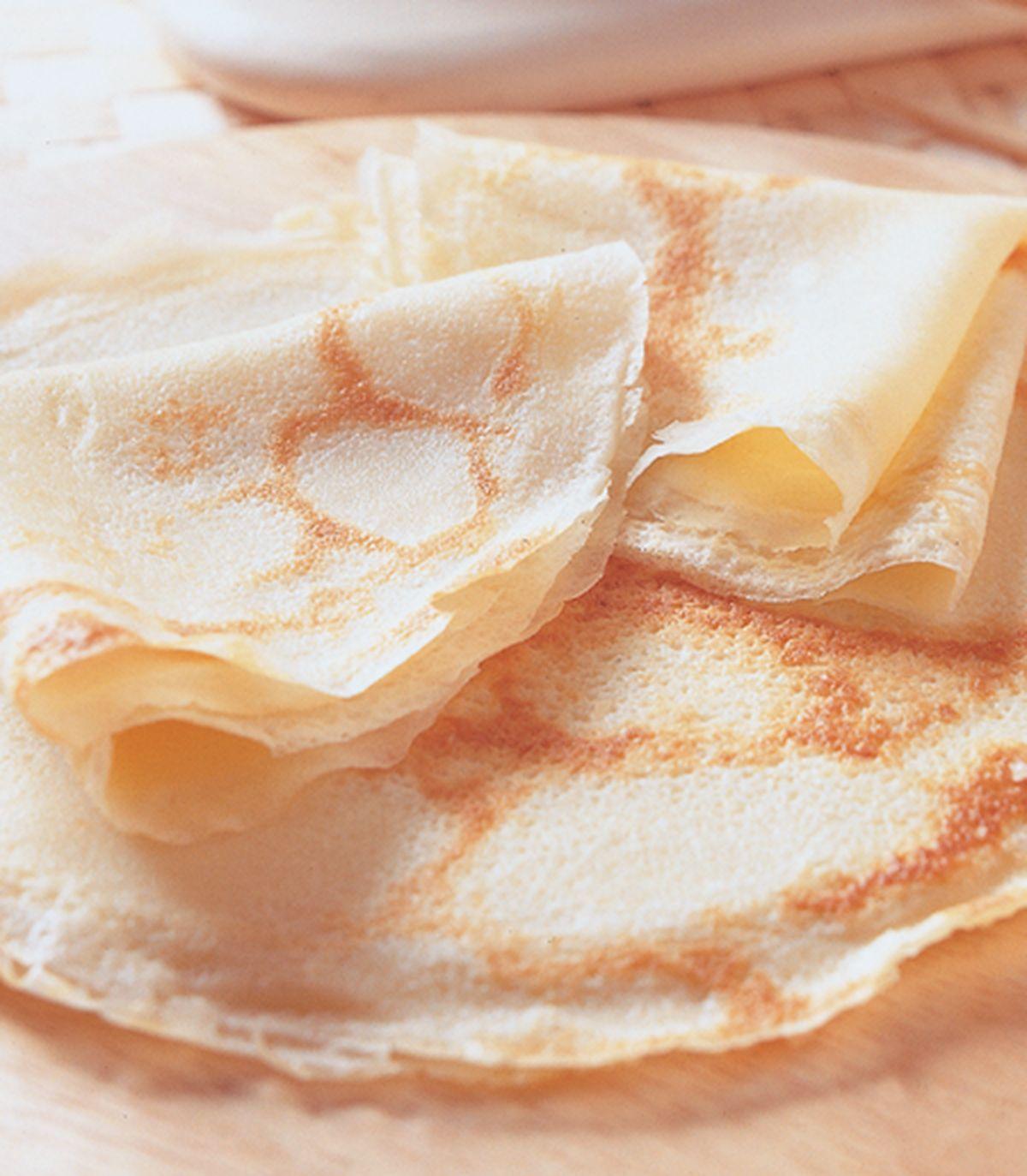 食譜:軟皮甜味可麗餅