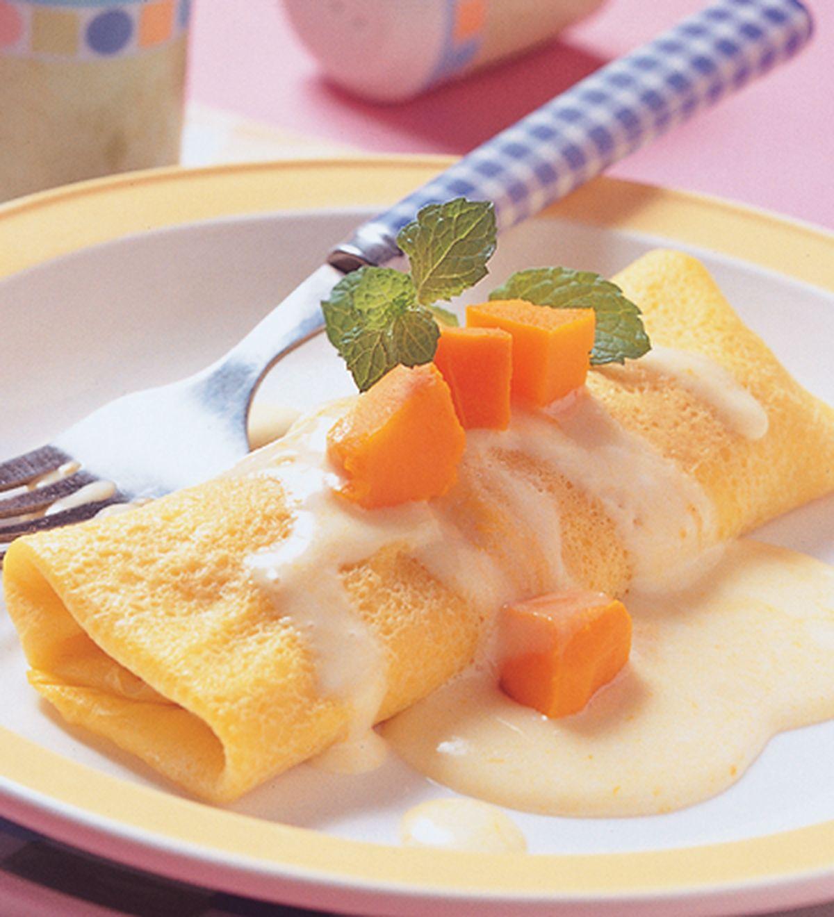 食譜:南瓜可麗餅