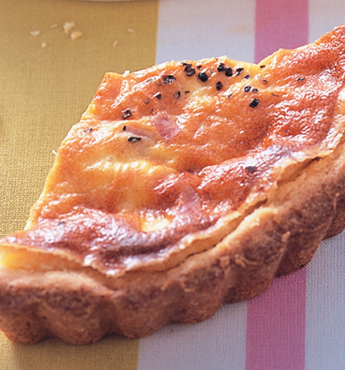 食譜:玉米火腿乳酪塔
