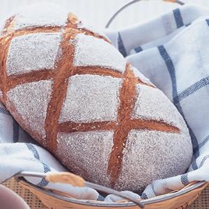 鄉村裸麥麵包