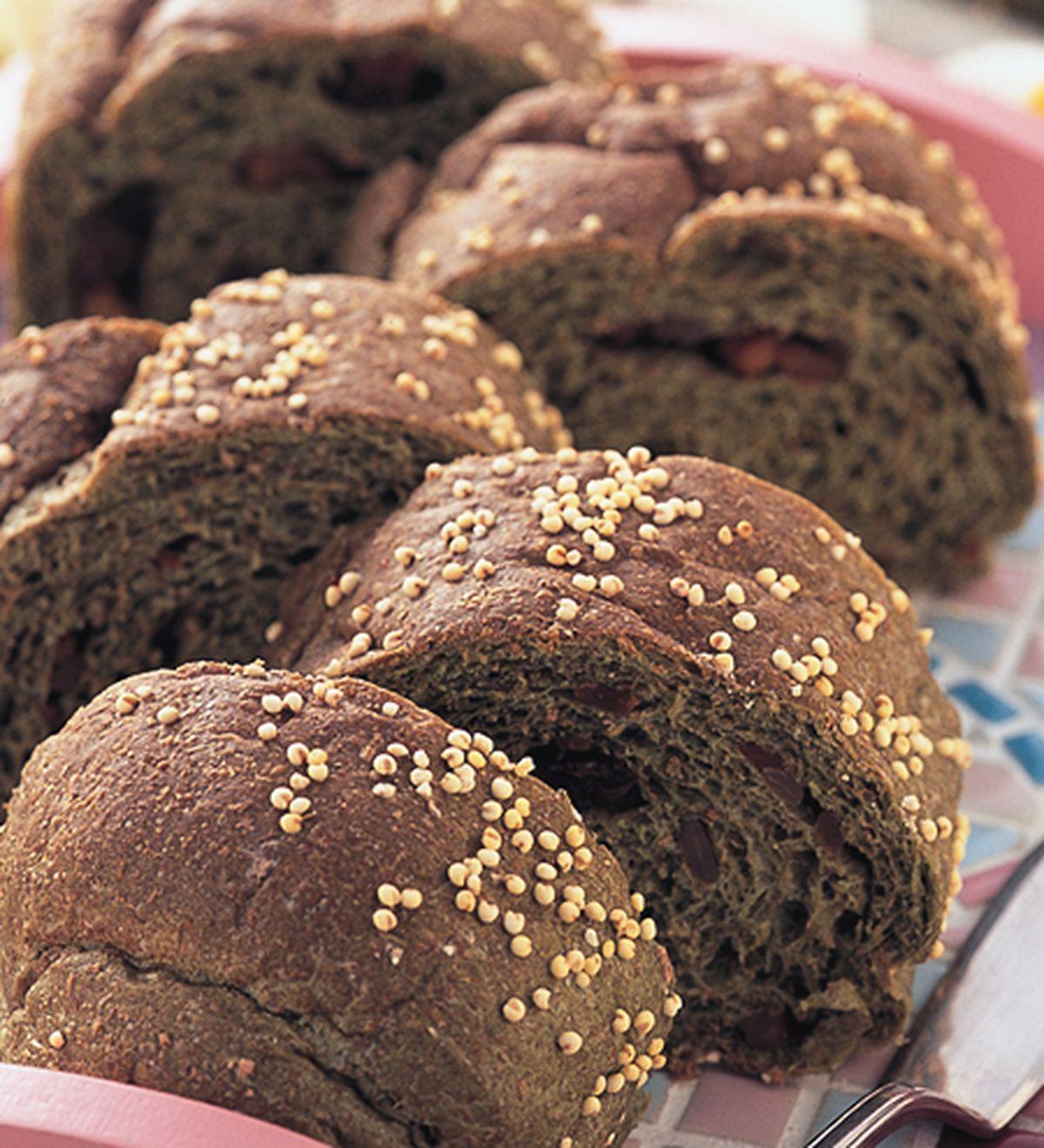 食譜:藍藻五穀麵包