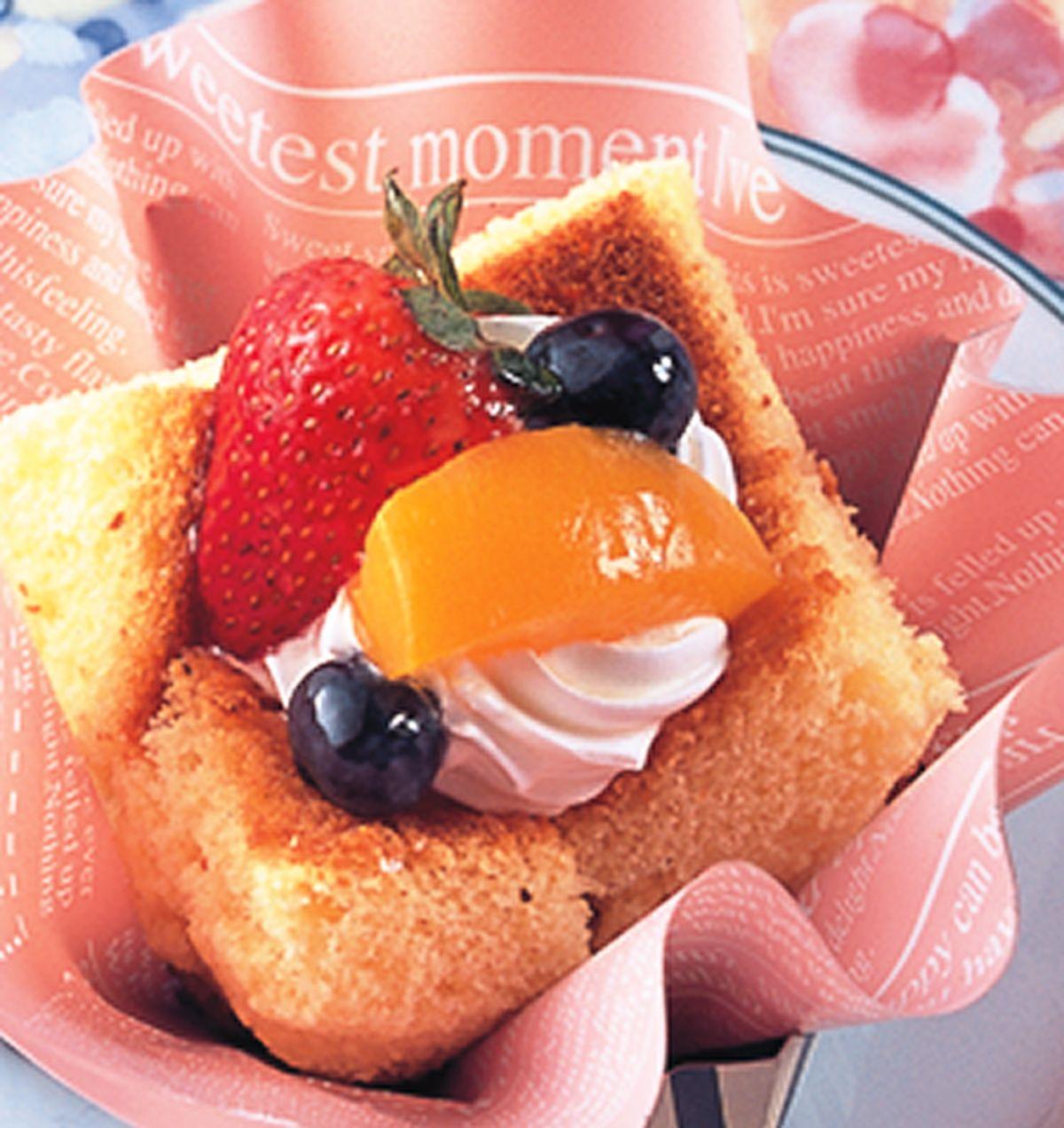 食譜:草莓仕戚風蛋糕