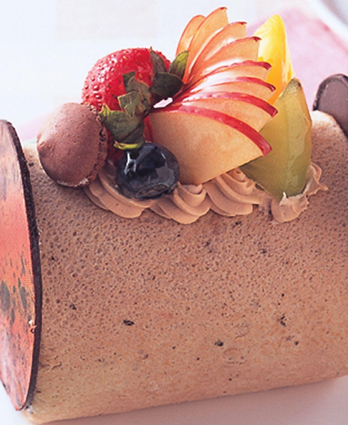 食譜:伯爵茶蘋果戚風蛋糕