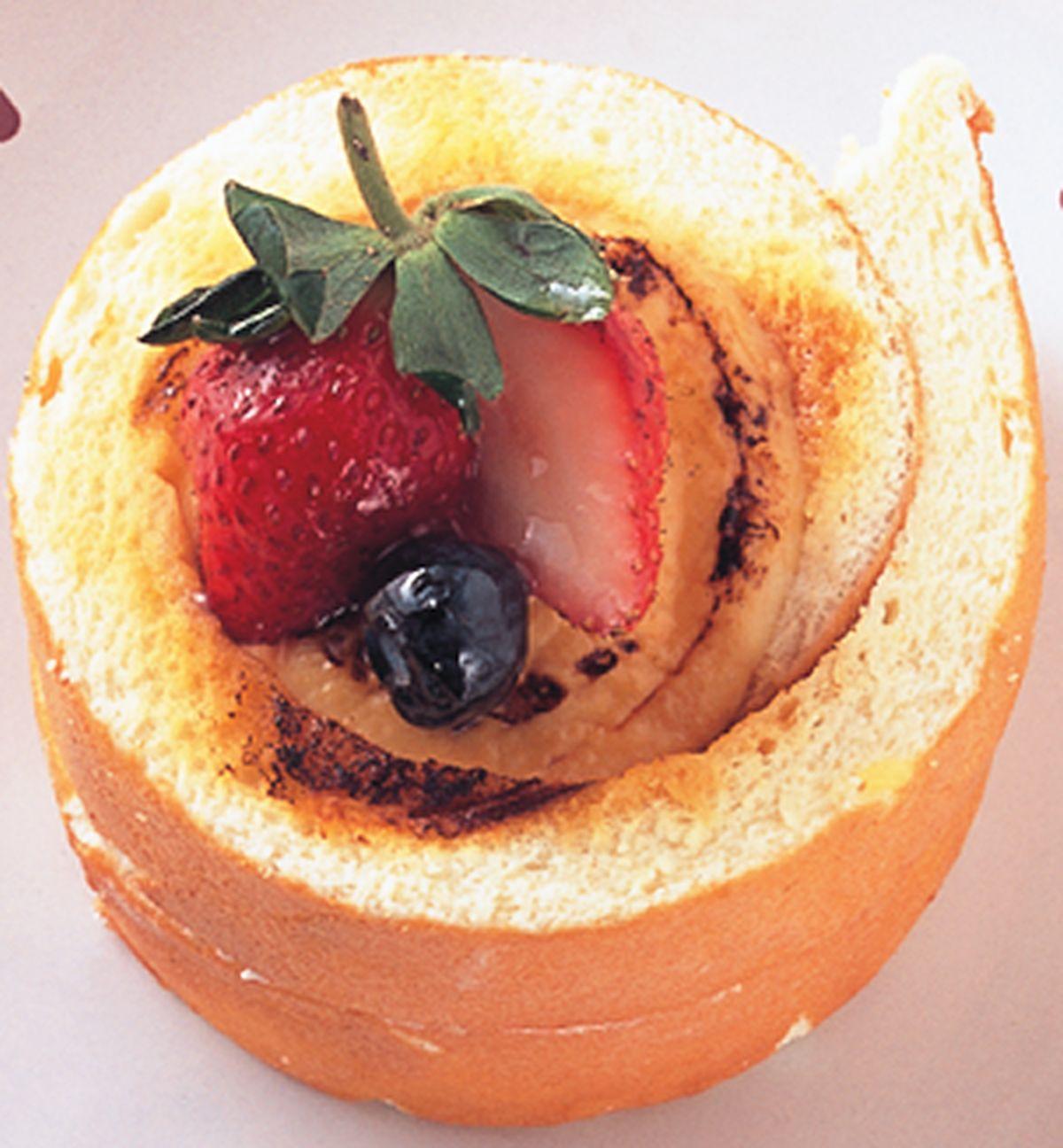 食譜:香草布丁戚風蛋糕