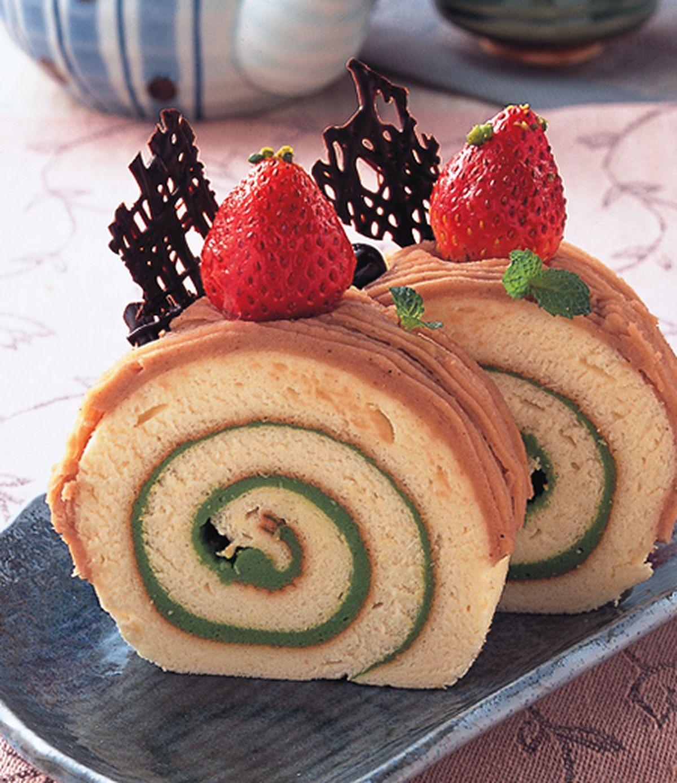 食譜:和風栗子戚風蛋糕
