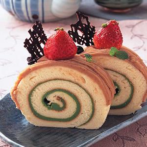 和風栗子戚風蛋糕