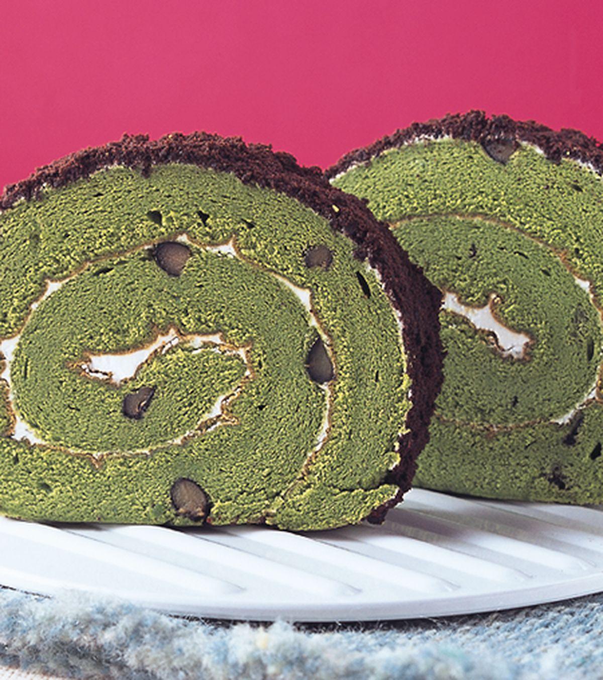 食譜:黑豆抹茶戚風蛋糕