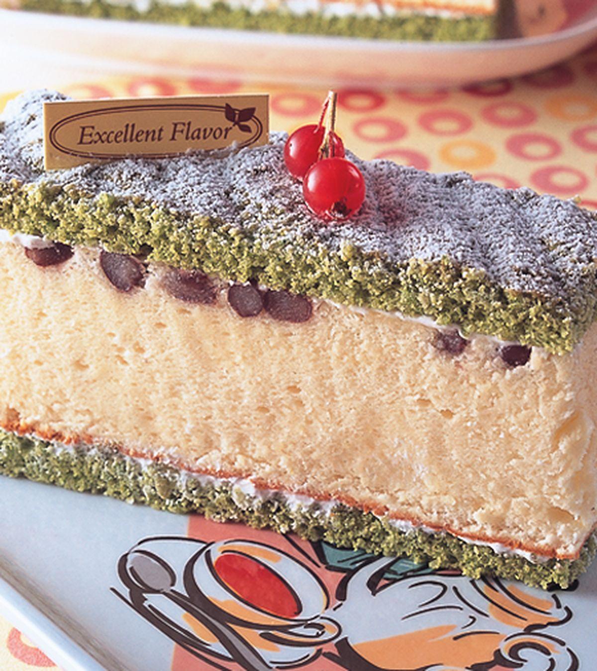 食譜:抹茶黃金戚風蛋糕