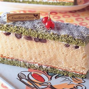 抹茶黃金戚風蛋糕