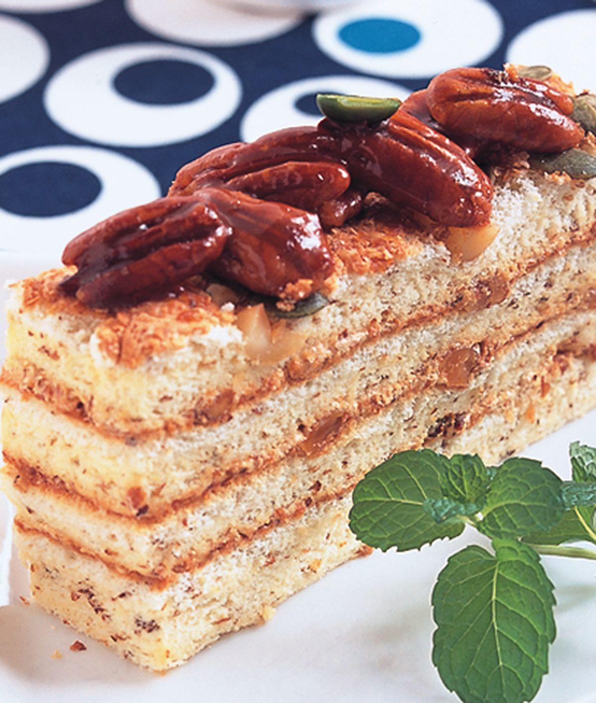 食譜:堅果胚芽戚風蛋糕