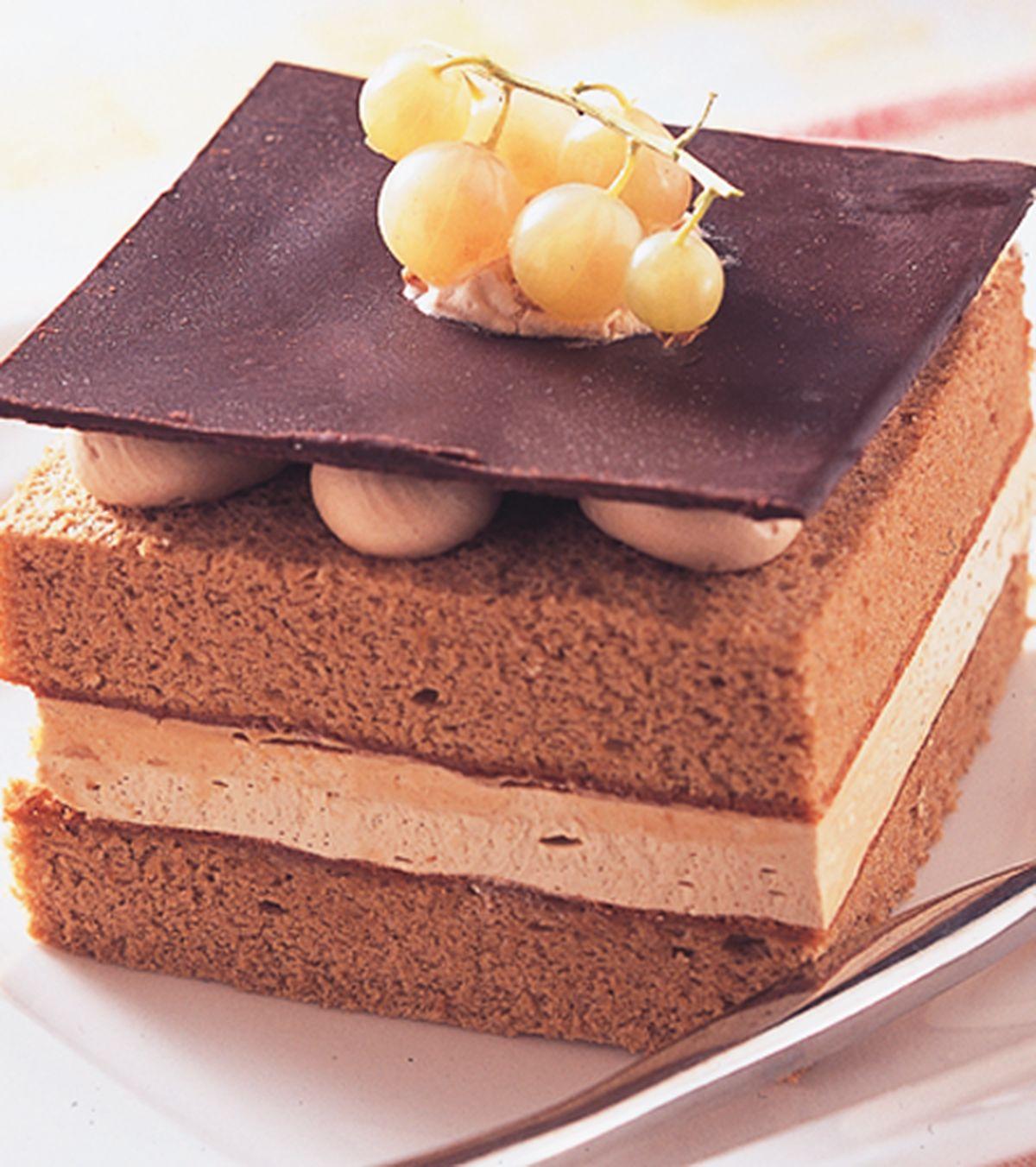 食譜:咖啡風情戚風蛋糕