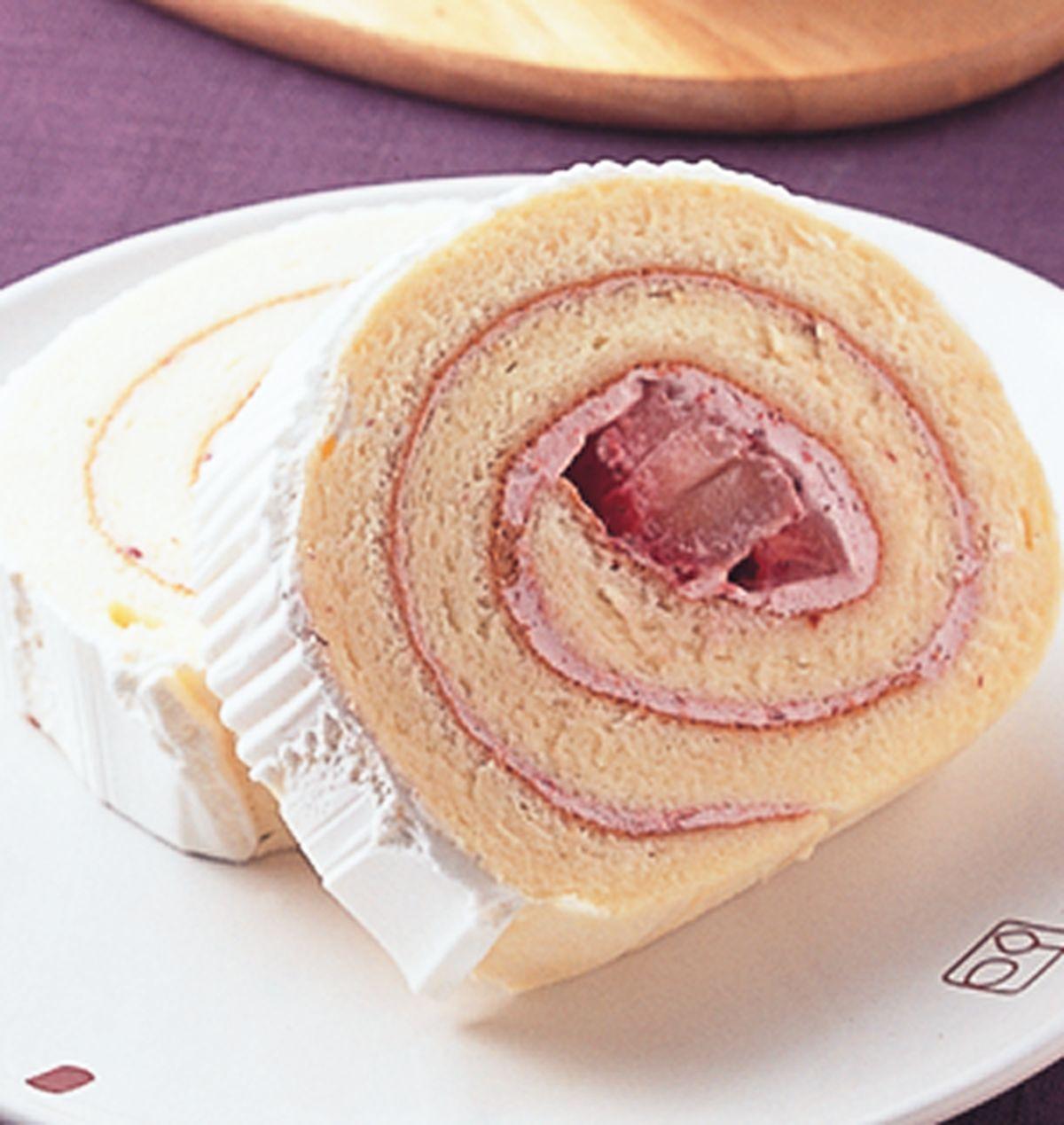 食譜:草莓提娜瑞士捲