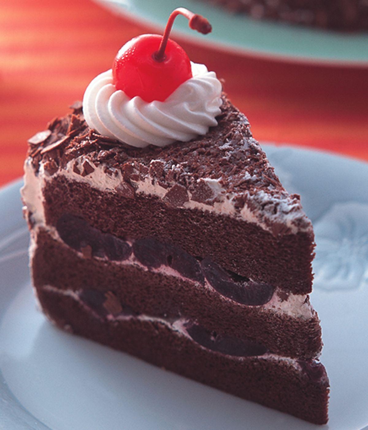 食譜:黑森林蛋糕(2)