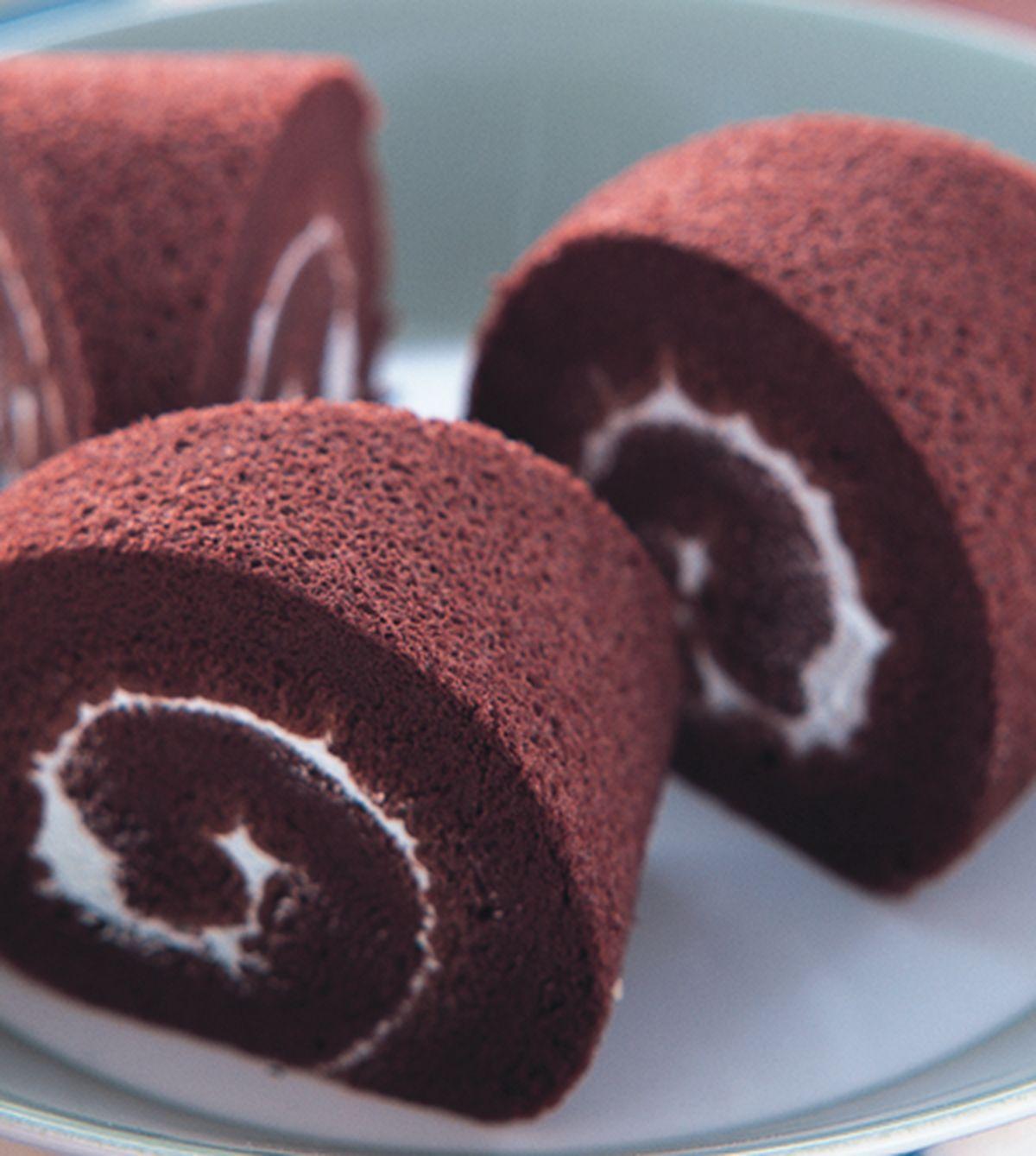 食譜:巧克力戚風蛋糕(1)