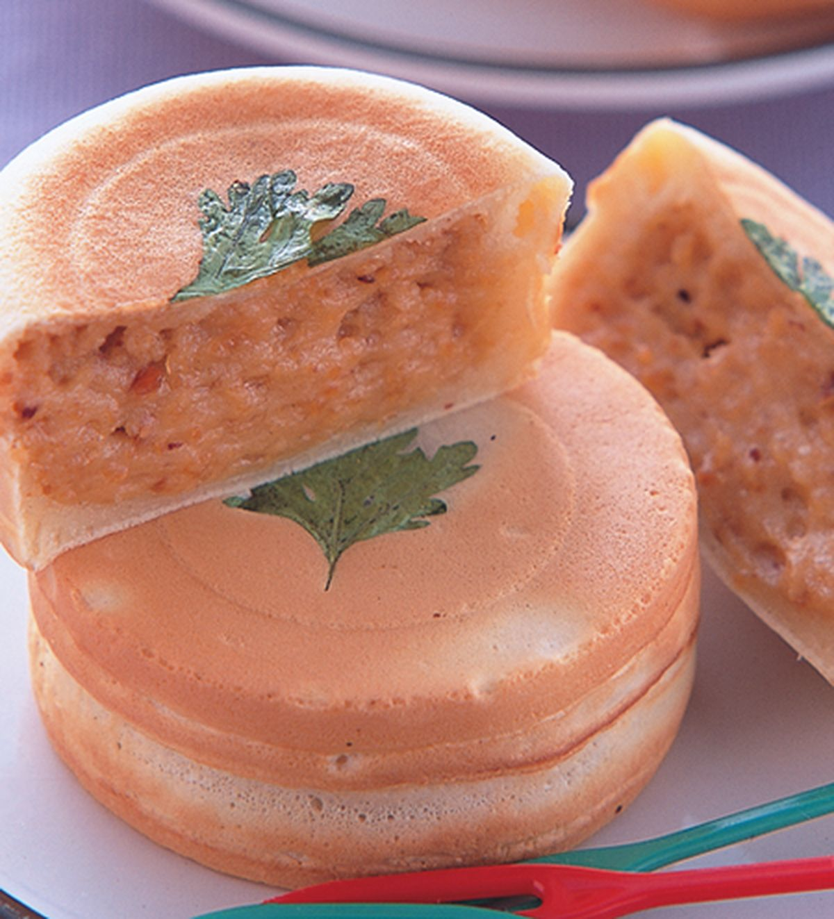 食譜:菜脯車輪餅