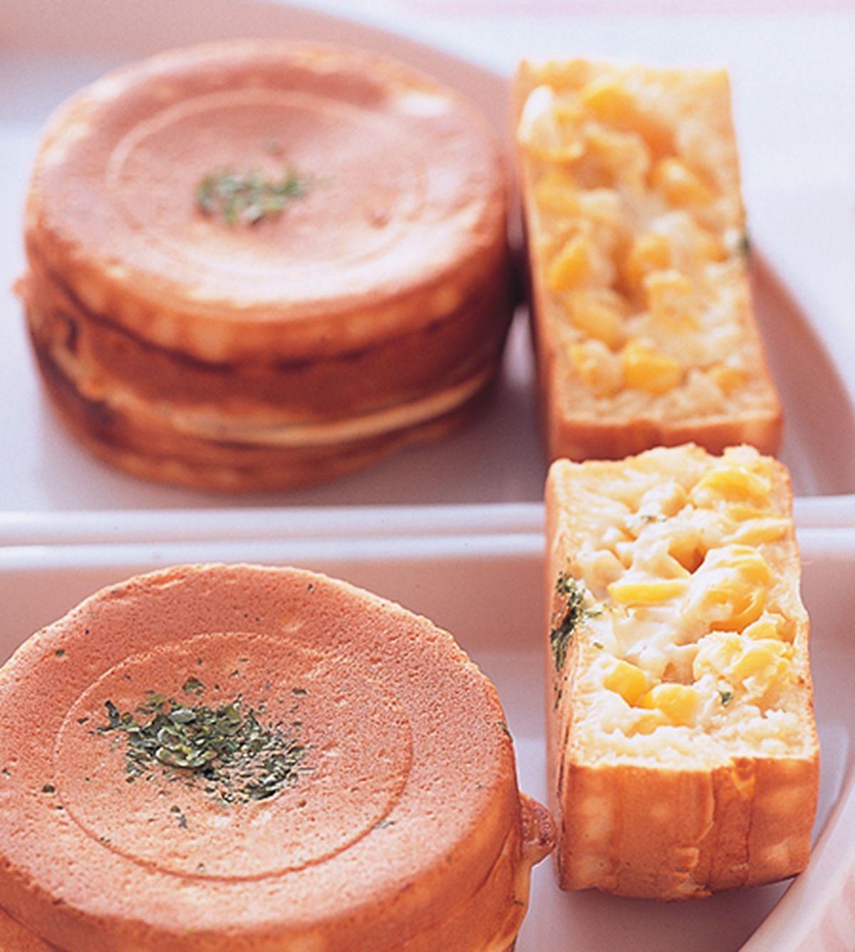 食譜:玉米起司車輪餅