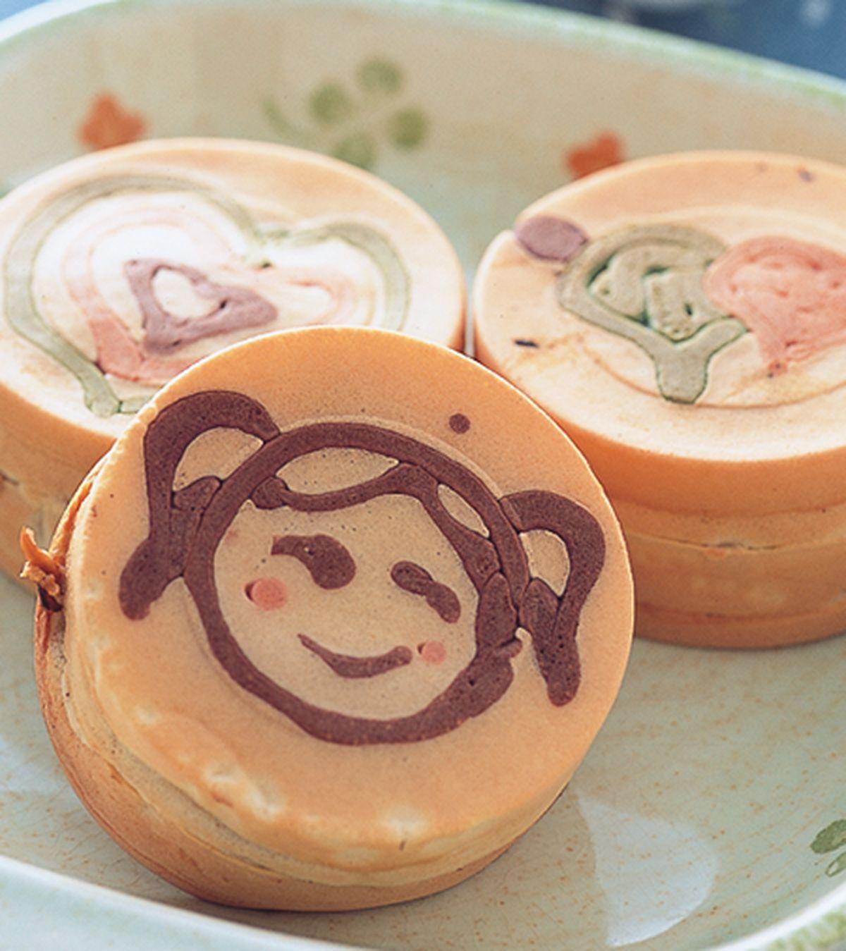 食譜:抹茶紅豆車輪餅