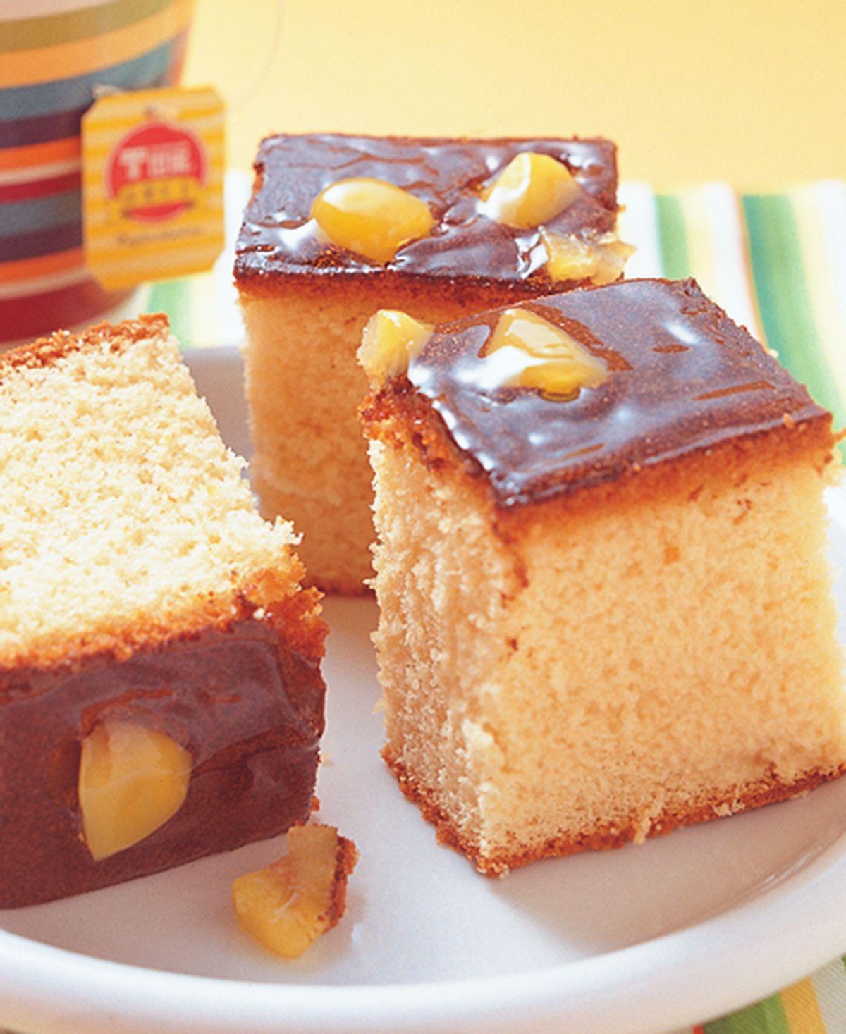 食譜:栗子蜂蜜蛋糕