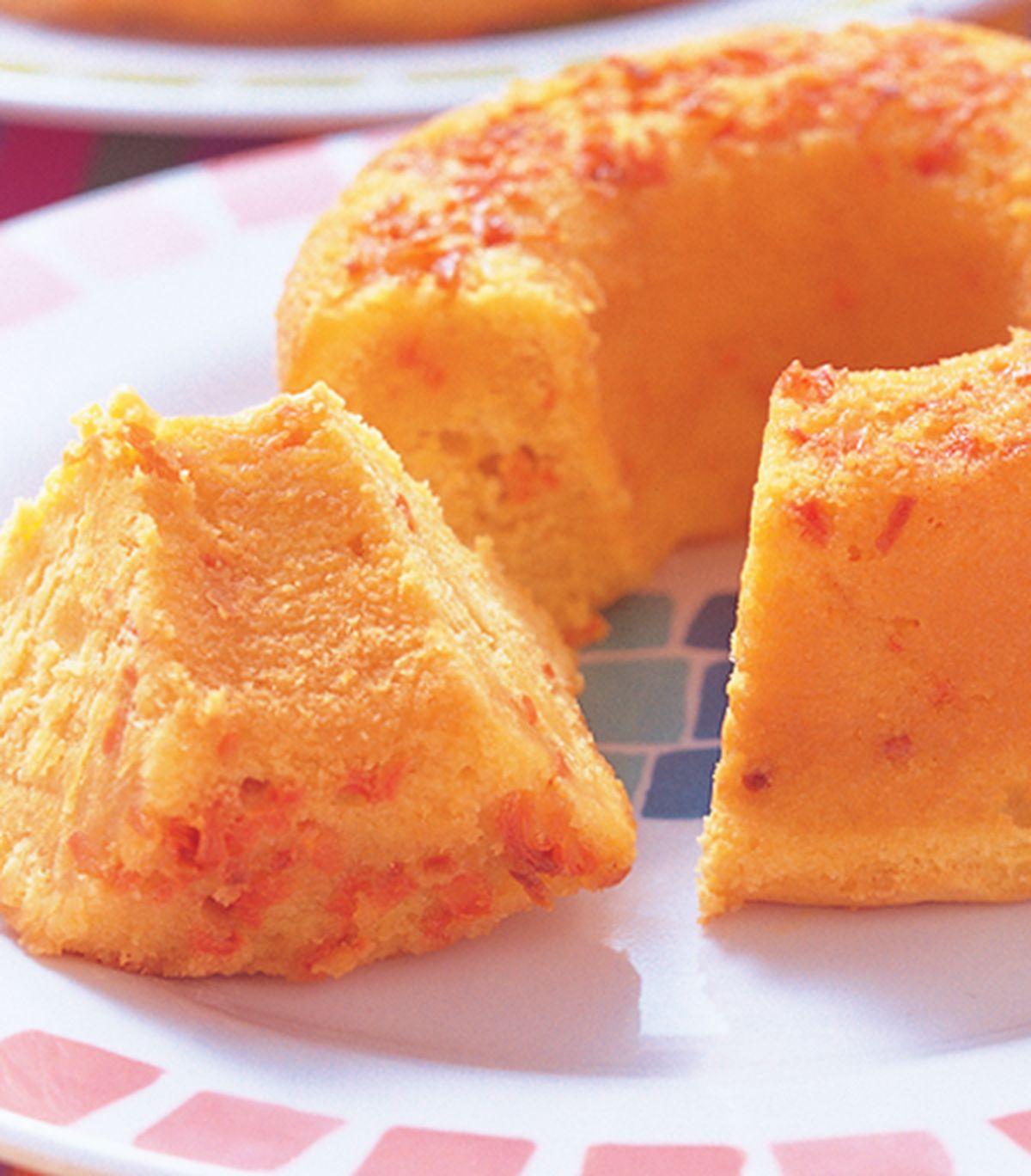 食譜:紅蘿蔔蜂蜜蛋糕