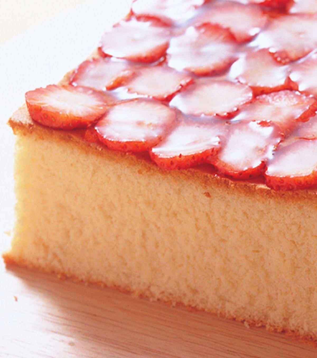 食譜:草莓蜂蜜蛋糕