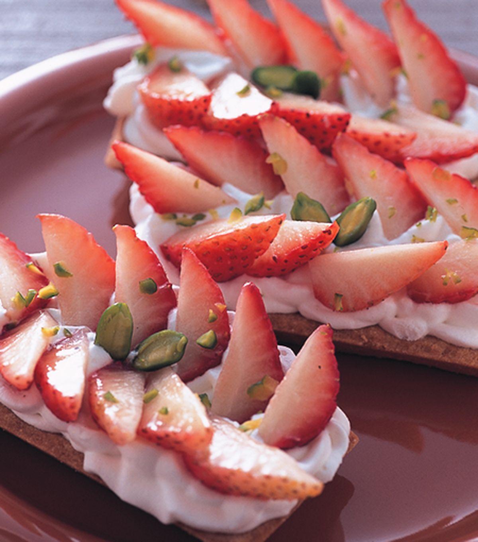 食譜:草莓杏仁塔