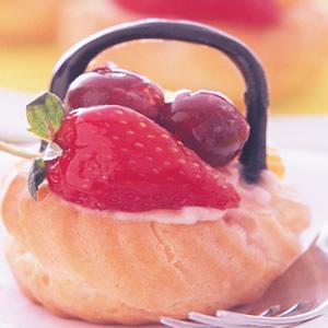 水果泡芙籃