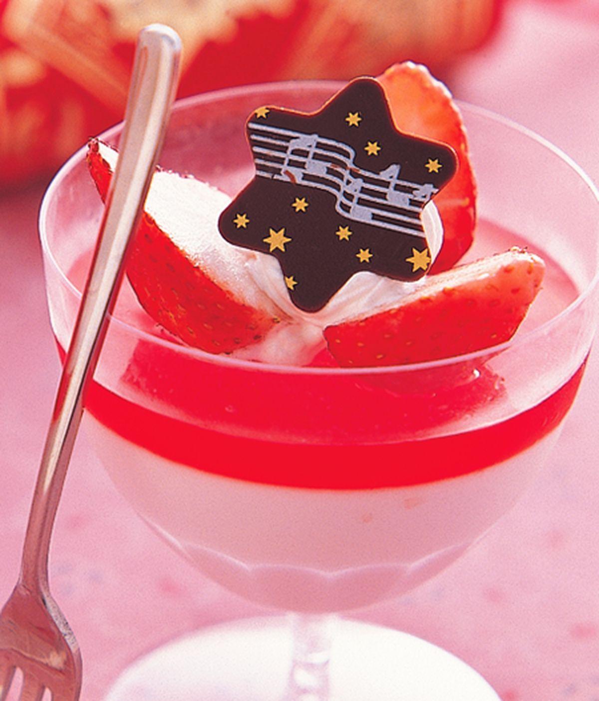 食譜:草莓慕斯