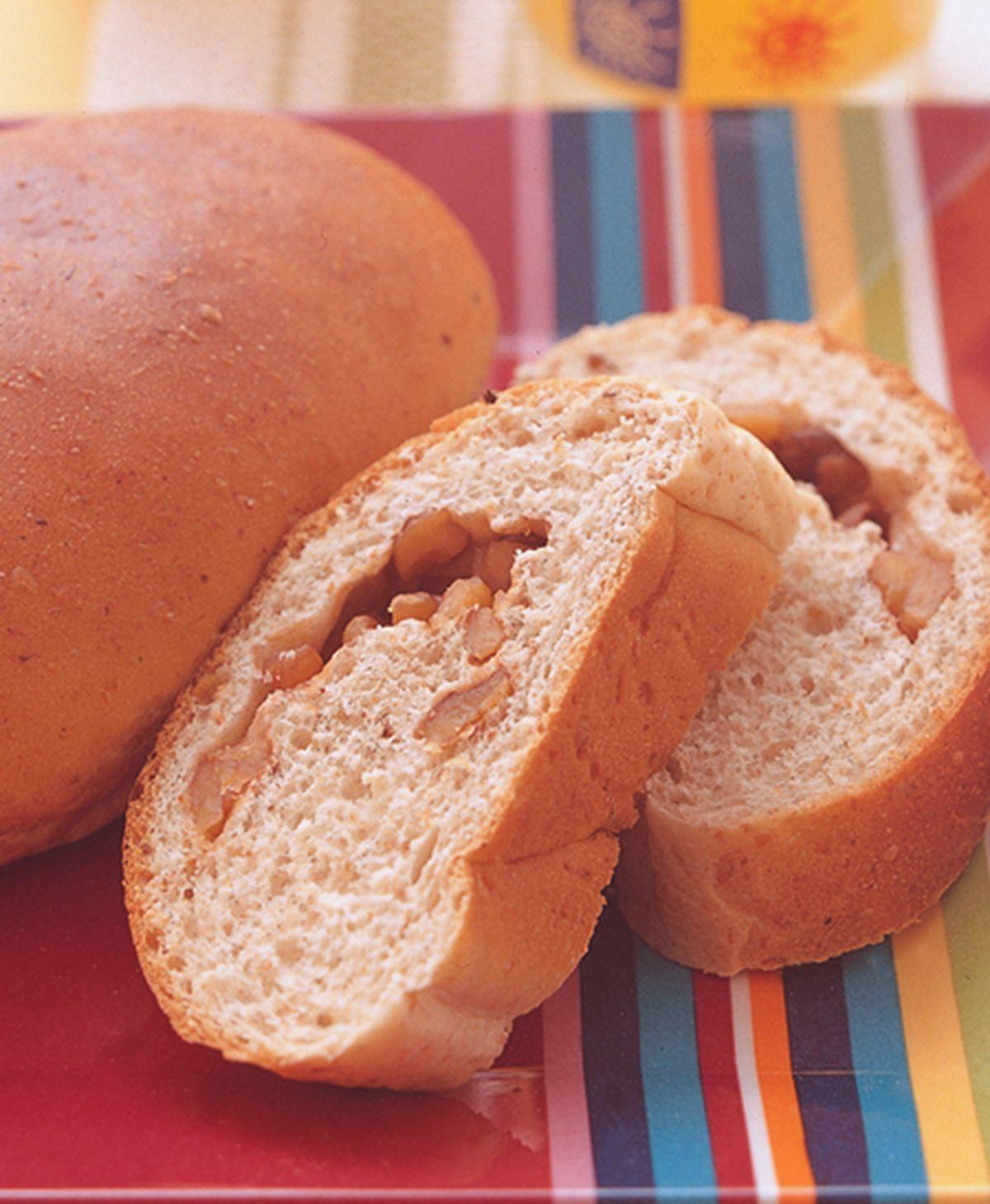 食譜:全麥核桃麵包