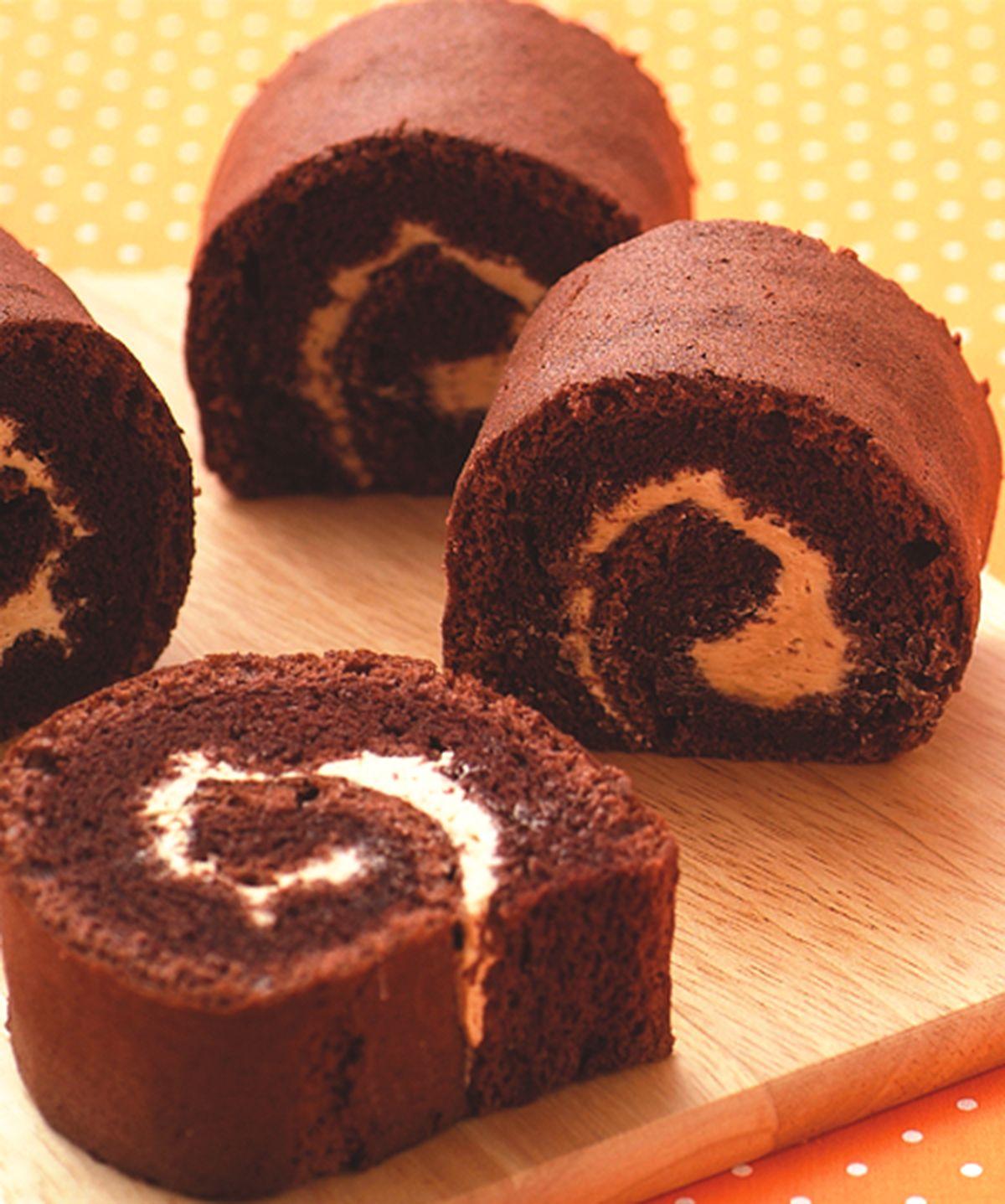 食譜:巧克力瑞士捲
