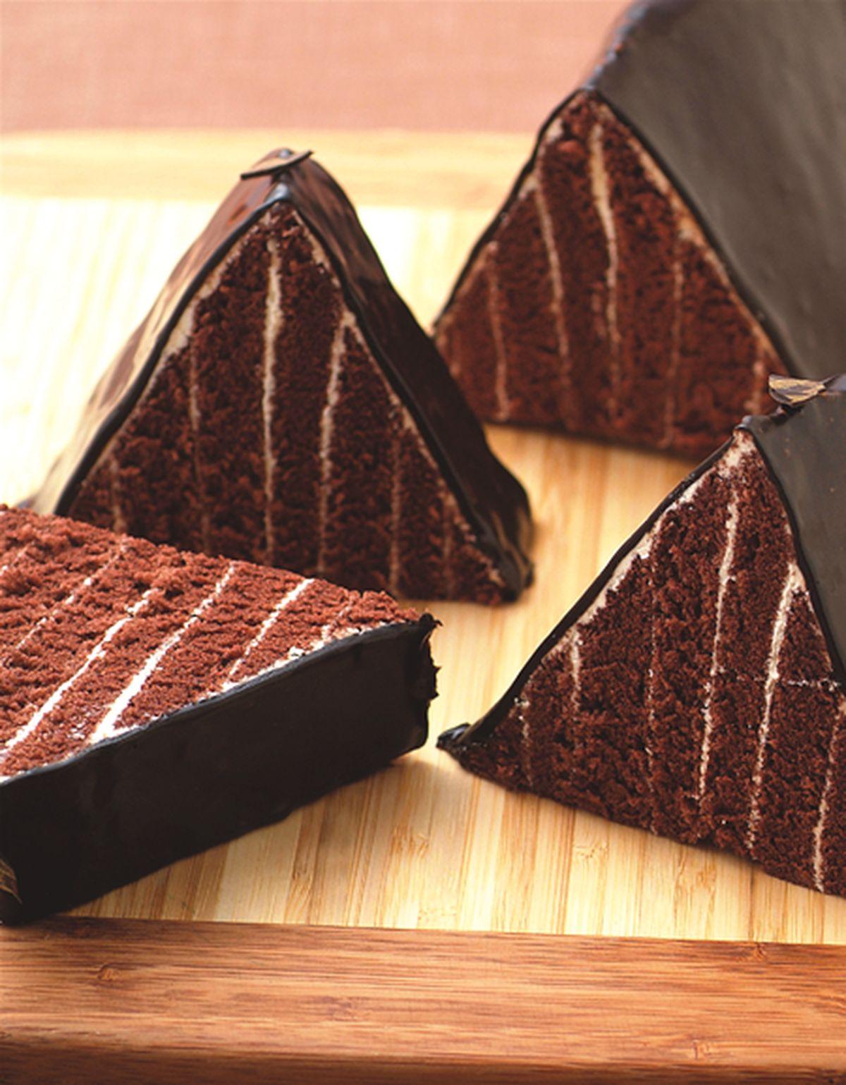 食譜:金字塔蛋糕