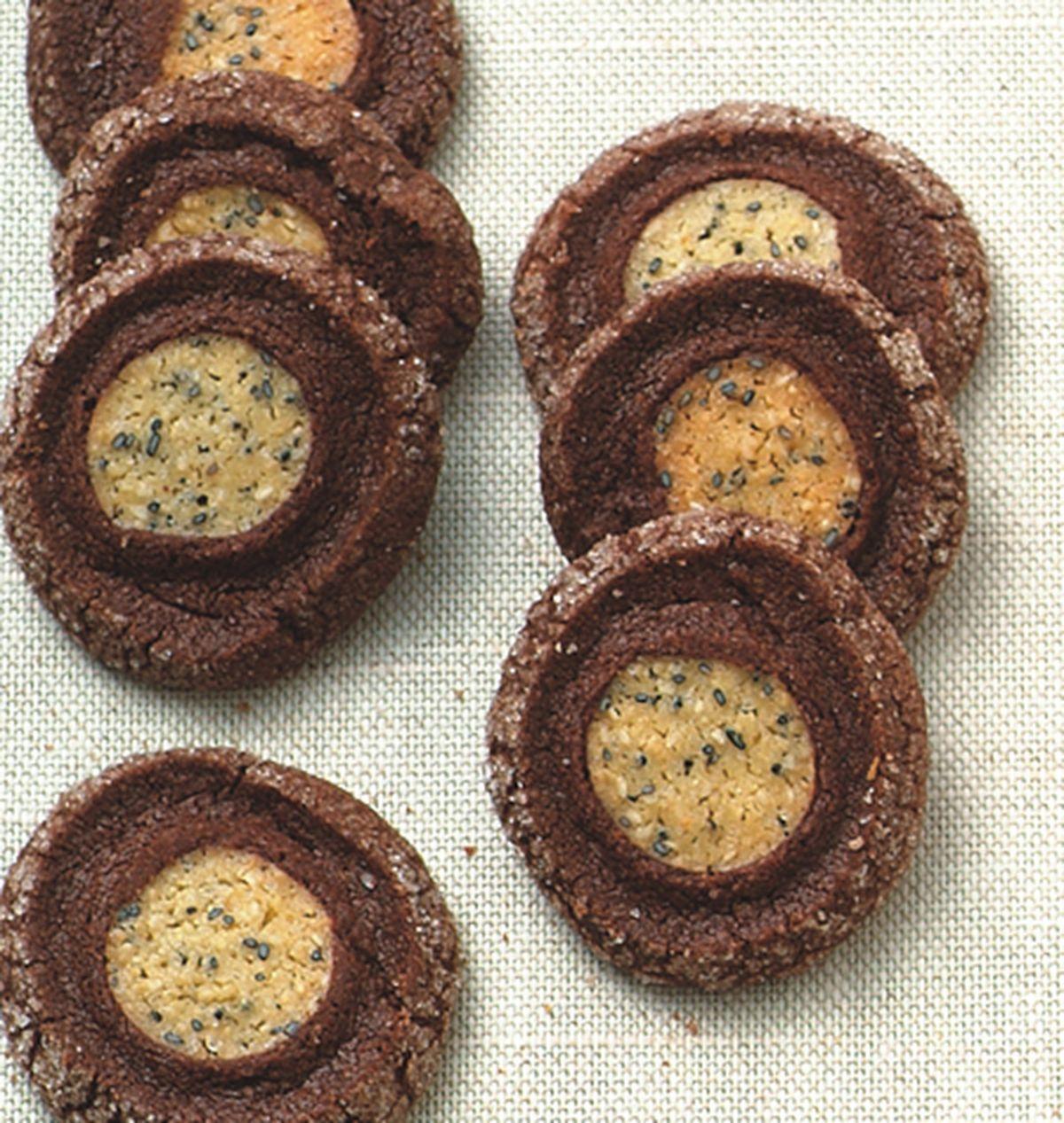 食譜:巧克力地瓜酥餅