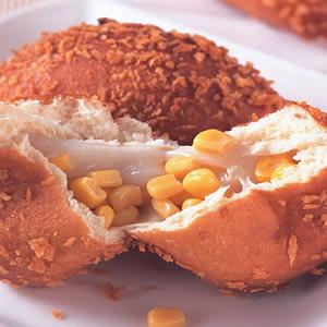 黃金玉米麵包