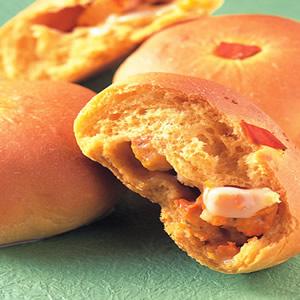 南瓜麻糬麵包