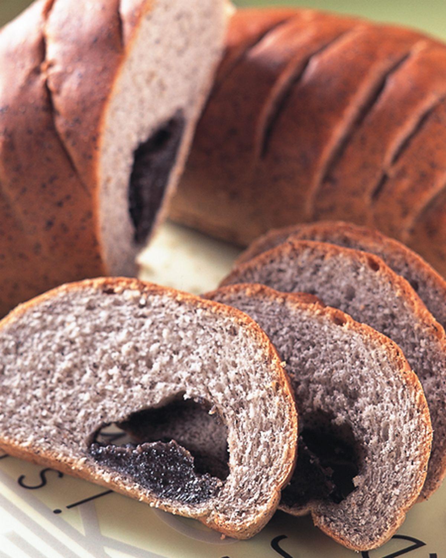 食譜:芝麻麻糬麵包(1)