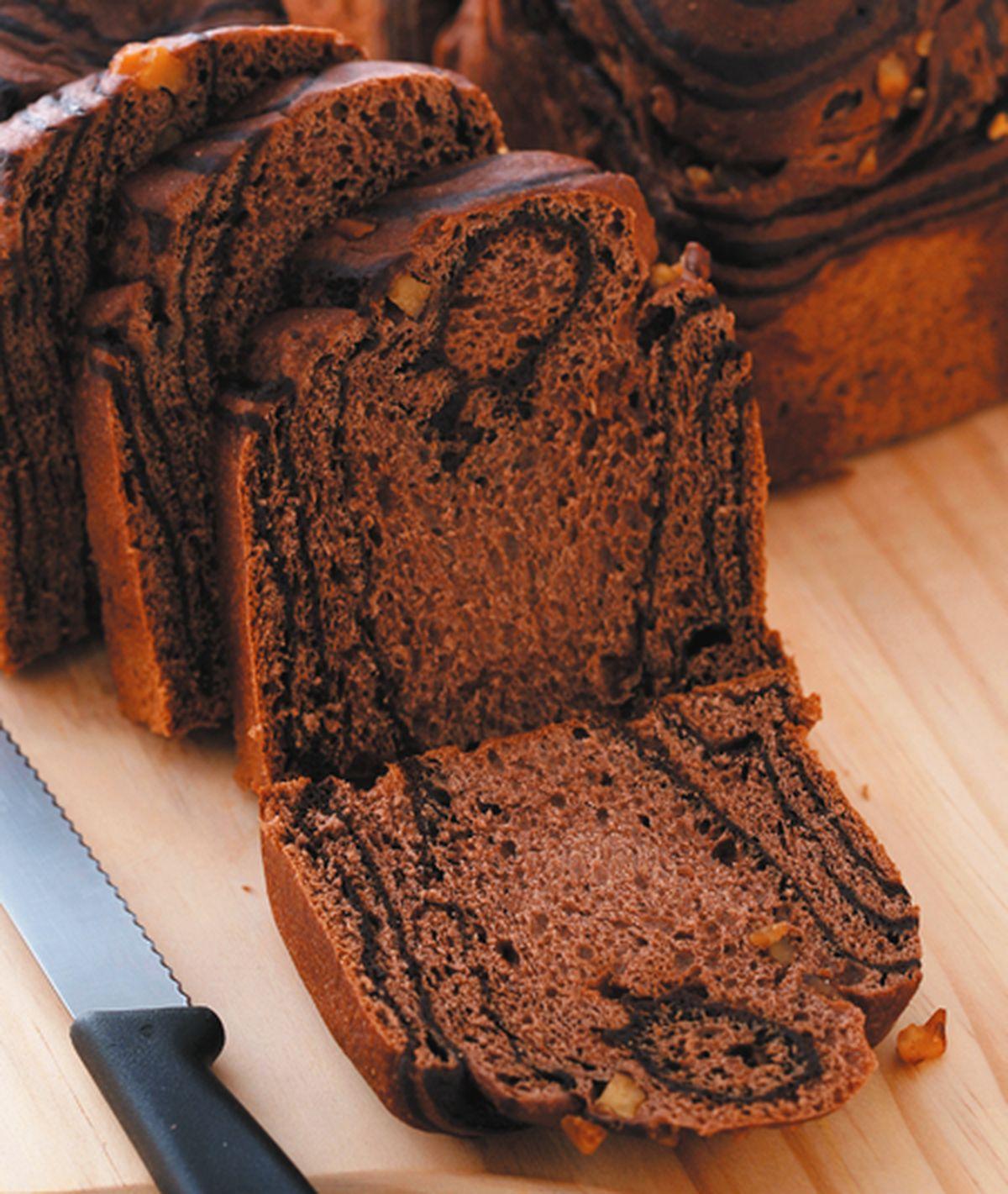 食譜:巧克力核桃麵包
