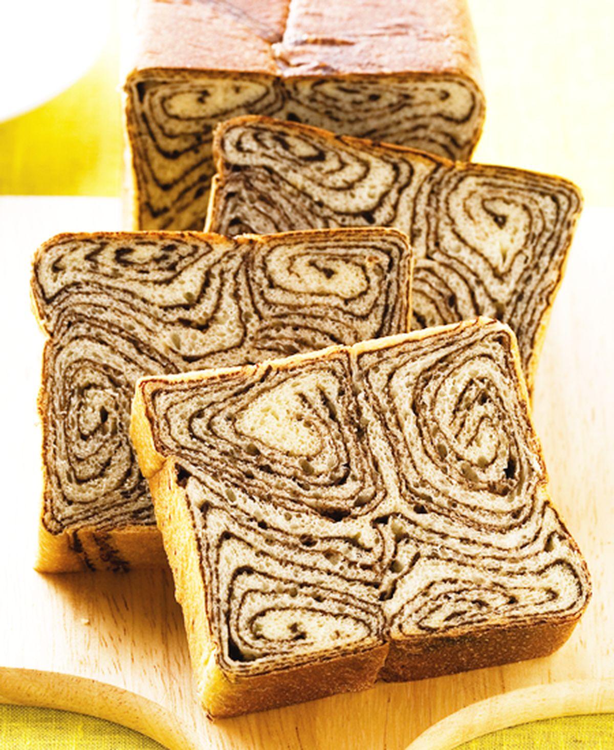 食譜:大尺碼雙色麵包