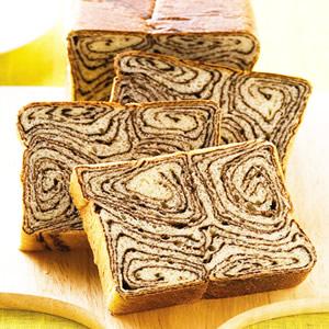 大尺碼雙色麵包