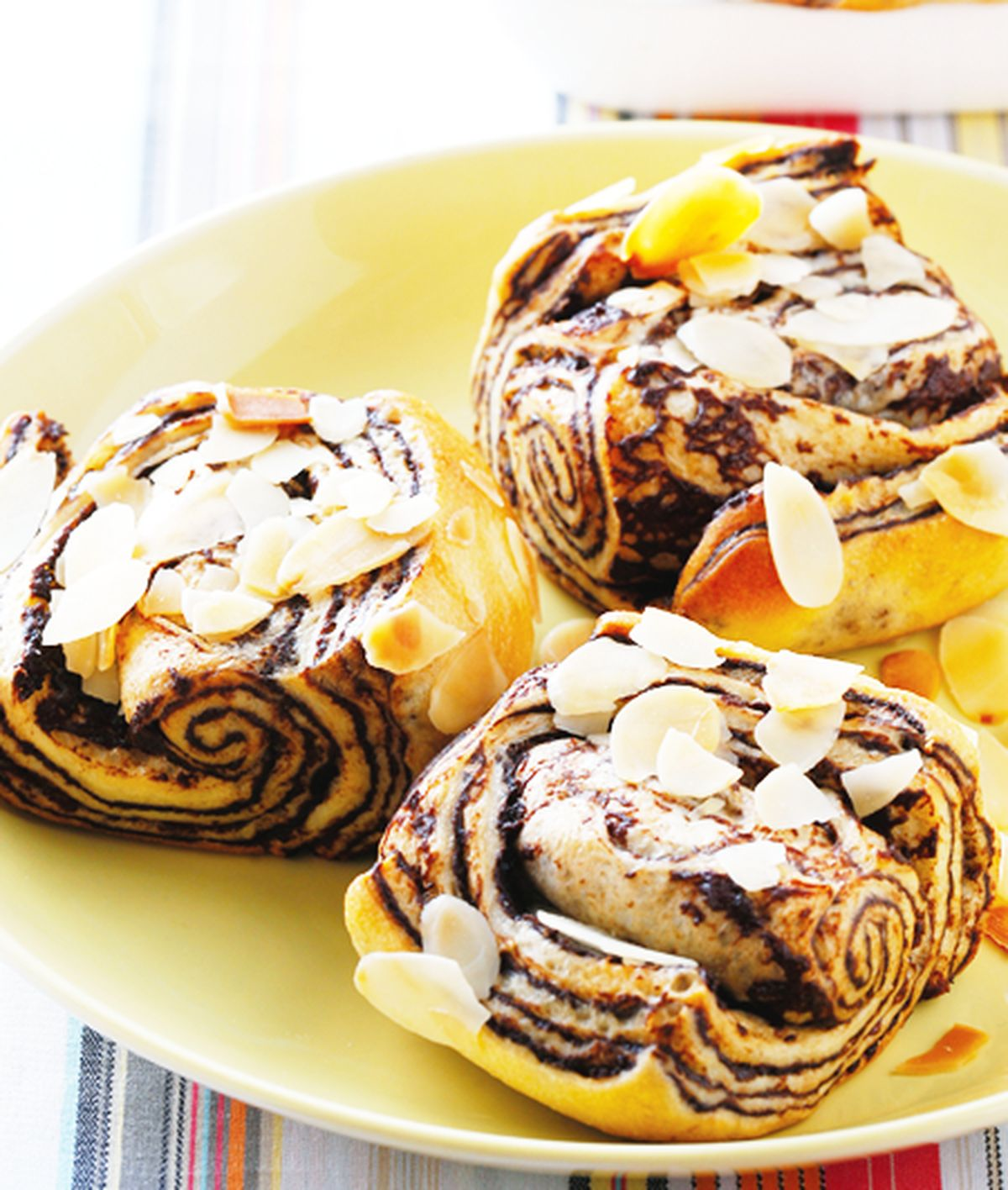 食譜:杏仁咖啡麵包