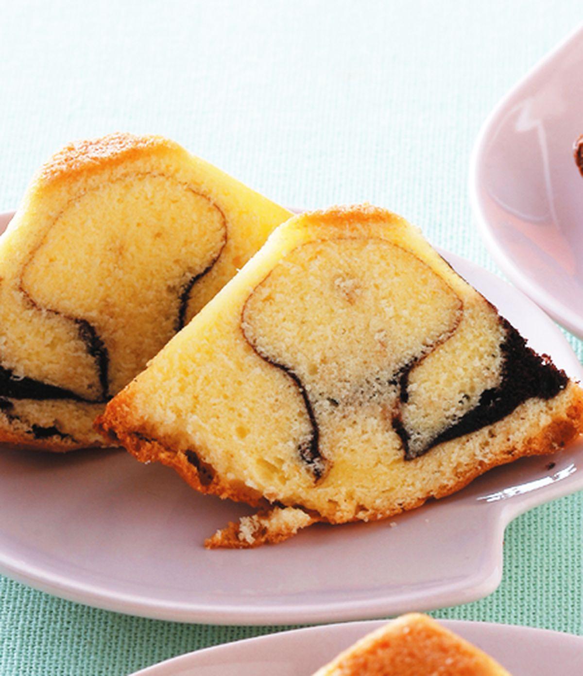 食譜:大理石金字塔蛋糕