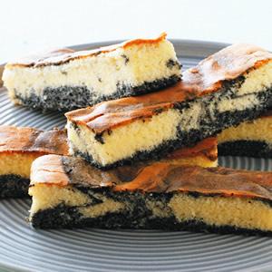 芝麻大理石蛋糕