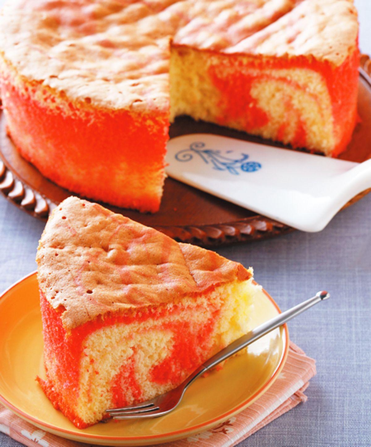 食譜:蔓越莓大理石蛋糕