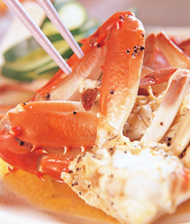 食譜:奶油焗螃蟹
