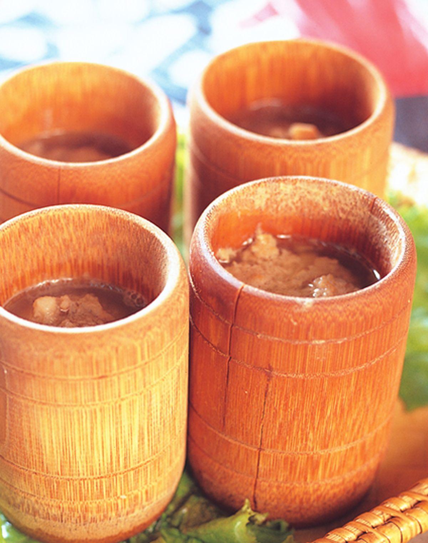 食譜:竹節鴿盅