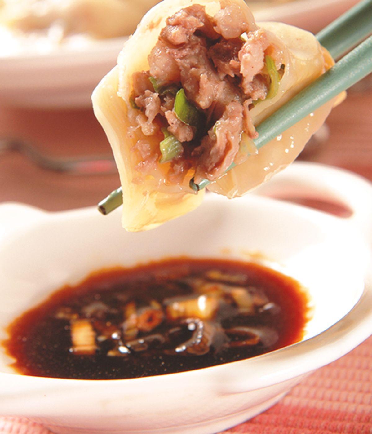 食譜:牛肉水餃